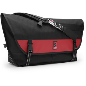 Chrome Citizen Messenger Bag, black/red